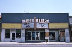 Brea Theatre, 134 S. Brea Blvd., Brea, May 1975 (Orange County Archives) Tags: california history historical southerncalifornia orangecounty 1970s yesterland orangecountyarchives orangecountyhistory wernerweiss