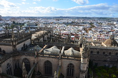 Seville from the top of the Giralda (7) (Prof. Mortel) Tags: spain minaret seville andalucia giralda almohad