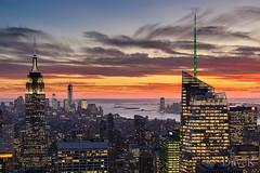 NY sundown (david.kettles) Tags: sunset usa newyork