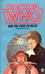 Dicks, Terrance - Doctor Who and the State of Decay (1984 PB) (sdobie) Tags: state decay books doctorwho 1984 100views 400views 300views 200views covers 500views dicks bats 800views 600views 700views 1000views 2000views 5000views 3000views 900views 2500views 4000views 6000views 1500views 7000views 8000views 9000views 1250views 1750views stateofdecay