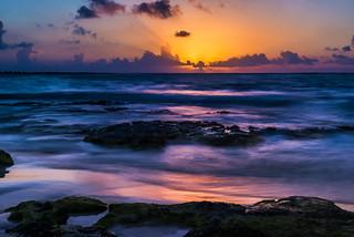 Sunrise2 on Akumal Beach, Mexico