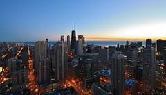 353 N Clark 66 (Sky Ninja) Tags: chicago sunrise lakemichigan highrise bluehour johnhancock marriot clarkst