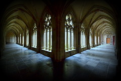 The Cloisters (Andy Moshy Taylor) Tags: holland architecture buildings nikon utrecht thenetherlands churches cathedrals stmartins cloisters domtuin d3100