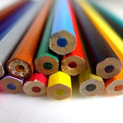 Coloured Pencils (Jonathan Stonehouse) Tags: macro pencil pencils fuji x colored series fujifilm crayons coloured xseries xf1 fujifilmxf1 fujixf1