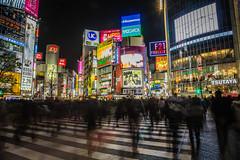 Friday Night In Tokyo (pictcorrect) Tags: city travel sunset rain japan architecture night umbrella shopping lights kyoto asia cityscape gates nightlife