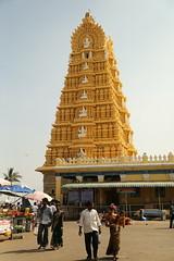 Le temple de Chamundeshwari (Citananda) Tags: hill mysore inde chamundi