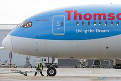 G-TUIA Boeing B787-8 Dreamliner Thomson Airways (kw2p) Tags: airplane scotland unitedkingdom aircraft aeroplane boeing paisley glasgowairport dreamliner egpf thomsonairways egpfgla b7878dreamliner gtuia