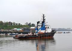 Marzamemi. Tyne 280414 (silvermop) Tags: sea port river boat ship offshore ships tyne tugs marzamemi tugboats