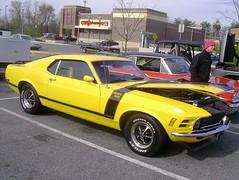 1970 Ford Mustang (splattergraphics) Tags: ford tribute 1970 mustang clone fastback boss302 burtonsvillemd churchoftheholydonut