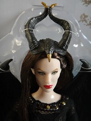 Royal Coronation Maleficent Doll - Disney Maleficent - Jakks Pacific - Deboxing - Attached to Backing - Portrait Front View (drj1828) Tags: us doll royal purchase toysrus 12inch coronation firstlook maleficent deboxing disneymaleficent