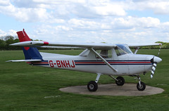 G-BNHJ (GH@BHD) Tags: aircraft aviation cessna 152 cessna152 denhamairfield gbnhj
