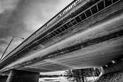 Iisalmi (Tuomo Lindfors) Tags: bridge winter suomi finland talvi silta iisalmi niksoftware koljonvirta silverefexpro