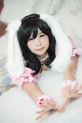 P55_020 (ms09Dom) Tags: cosplay コスプレ 東方project 因幡てゐ 五木あきら itsukiakira