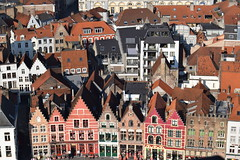 Colourful Houses (Keith Mac Uidhir  (Thanks for 3.5m views)) Tags: belgium belgique brugge belgi bruges brujas belgien belgio brygge blgica brgge belgia  belika brugia belhika    b            blgia  bljm