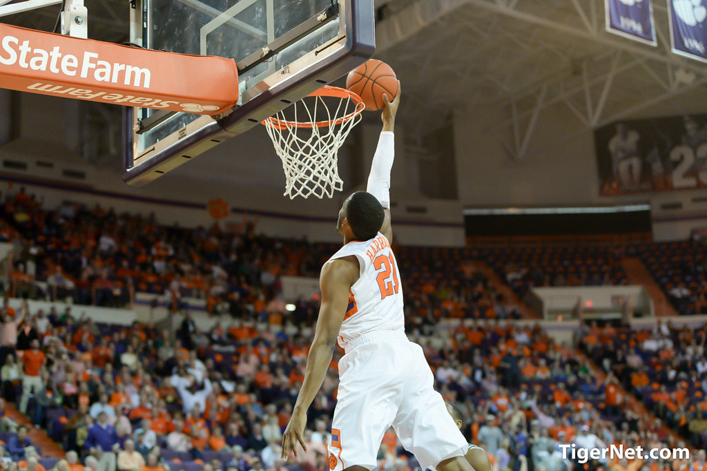 Clemson Photos: Damarcus  Harrison, 20142015, Basketball