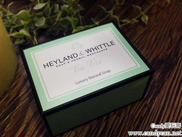 【美容心得】英國的 英倫薇朵 HEYLAND & WHITTLE -H&W清新 茶樹 手工精油香皂分享-上篇