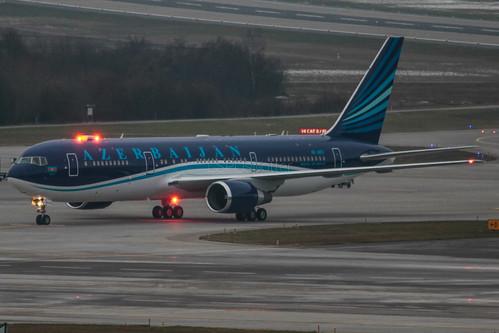 Azerbaijan Airlines - Boeing B767-300 - 4K-AI01 - ZRH, 21.01.2015
