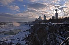Niagara Falls HDR (jarrett45frazier) Tags: canada cold ice water america niagarafalls waterfall unitedstates unitedstatesofamerica horseshoefalls americanfalls