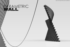 Parametric Wall, Architectural Visualization (samir mavric|architectural visualization) Tags: wall design 3d view graphic render perspective architectural presentation visualization rendering parametic