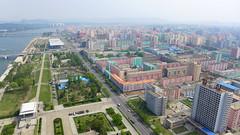 Pyongyang Residential buildings (Daniel Brennwald) Tags: panorama korea northkorea pyongyang dprk juche nordkorea juchetower pjngjang