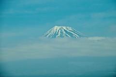 # 72 UNESCO World Heritage Site: Fujisan, sacred place and source of artistic inspiration (rodliam) Tags: train mountfuji shinkansen nozomi n700