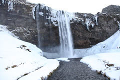 Winter waterfall (threejumps) Tags: winter snow cold fall ice water waterfall iceland fosse