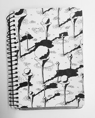 Golfrocks (matvei voznik) Tags: blackandwhite terrain art nature illustration pen golf landscape sketch rocks waves shadows stones grow meadow rocky pins sketchbook aerial cliffs shade wetlands draw prehistoric spheres birdseyeview bnw lineart cones platforms vibration fineliner terraincognita livingplanet grapgics irrosipn