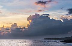 pererenan beach - sonnenuntergang (maikepiel) Tags: ocean travel sunset sea bali seascape beach clouds strand indonesia landscape meer colours sonnenuntergang wolken indonesien farben skyhimmel pererenan