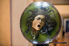 Caravaggio, Medusa (Iztok Alf Kurnik) Tags: italy art museum florence italia gallery artgallery it tuscany firenze uffizi artmuseum toscana medusa caravaggio musem uffizigallery uffizimuseum firence iztokkurnik