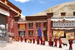 Tibet (kizeme) Tags: asia tibet sakya monastero monaci kora soe