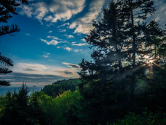 Goose River trail, Fundy NB (Moncton Guy) Tags: camping sunset fujifilm fundy xf1