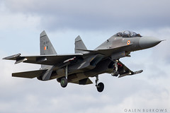 Indian Air Force SU-30 (galenburrows) Tags: airplane flying fighter aircraft aviation military flight jet airforce su30 trenton indianairforce flanker ytr cytr