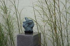 Penjing stone and bamboo, National Bonsai and Penjing Museum, US National Arboretum (jmlwinder) Tags: washingtondc bamboo usnationalarboretum nationalbonsaiandpenjingmuseum penjing viewingstones