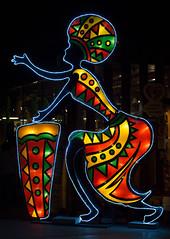 _DSC9782_2 (Elii D.) Tags: light fish flower animal night zoo monkey neon dragons lantern lampion dargon