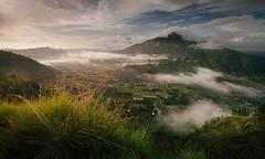 The Pinggan (gedelila) Tags: bali landscape batur kintamani bangli pegunungan pinggan indahnyaindonesia indahelok indahnyaalamku