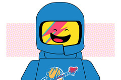 Spaceship! Oddity (Justin.Brown) Tags: lego spaceman spaceship davidbowie ziggystardust aladdinsane spaceodyssey legomovie