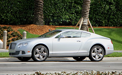 Bentley Continental GT W12 (RudeDude2140a) Tags: sports car silver continental exotic gt coupe bentley w12