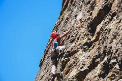 Pared de Jabah (lxrdrg) Tags: outdoors climbing escalada cajondelmaipo escaladadeportiva vallelasarenas