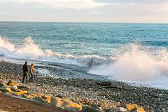 DSC_0198 (sergeysemendyaev) Tags: sunset sea storm beach spring warm waves russia dusk adler atthebeach seashore blacksea seacoast bigwaves sochi  2016                 duringf1 1 duringformulaone