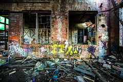 Solvay Coke & Gas (Thomas Hawk) Tags: usa abandoned wisconsin america graffiti unitedstates unitedstatesofamerica milwaukee urbex solvaycokegas