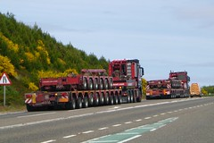 Mammoet (A9 AWM) Tags: mercedes helmsdale heavyhaulage mammoet