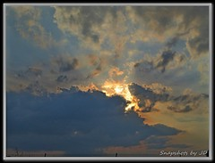 Wild Build up of Clouds leading into sunset (Snapshots by JD) Tags: oklahoma clouds westville