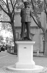 Memorial to Sir Arthur Harris (IanAWood) Tags: urban cityscapes centrallondon walkingwithmynikon nikondf nikkorafs58mmf14g