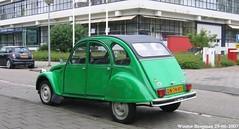 Citron 2CV 1979 (XBXG) Tags: auto old france holland green classic netherlands car amsterdam vintage french automobile nederland citron voiture 2cv frankrijk 1979 paysbas eend geit ancienne 2pk 2cv6 citron2cv franaise deuche deudeuche dn74ry