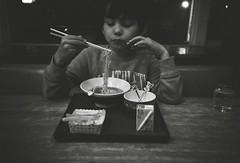 (bobby stokes) Tags:  blackandwhite film analogue noodles soup ramen  lomo lca ilford hp5 ilfordhp5 lomolca
