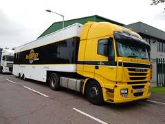 McGimpsey Removals Iveco Stralis SJZ 4064 (5asideHero) Tags: truck removal removals iveco mcgimpsey 4064 stralis sjz