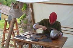 MEDIEVAL WORK 3 (Bruno Viganò) Tags: morimondo abbaziadimorimondo medievalwork medieval edadmedia mittelalter moyenâge middleages medievalcampus nikon5100 35mm italia gunsmith armaiolo armorer