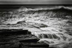 Dark Wave (Crouchy69) Tags: ocean sea white seascape motion black water pool landscape flow coast rocks waves sydney wave australia maroubra mahon