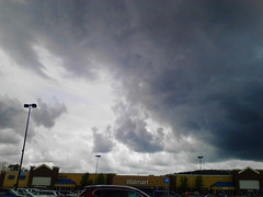 Clouds Over Walmart (Random Retail) Tags: ny weather retail store walmart olean 2016
