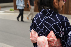 20160604 Arimatsu Shibori Festival 5 (BONGURI) Tags: blue girl festival nikon indigo jp nagoya yukata   aichi  midori        arimatsushibori arimatsu  indigoblue        d3s afsnikkor2470mmf28ged midoriward  arimatsushiborifestival